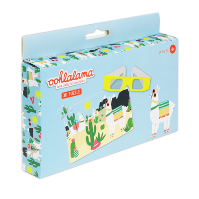 Oohlalama - 3D Puzzle
