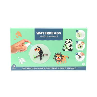 Waterbeads set 500 beads - Jungle animals
