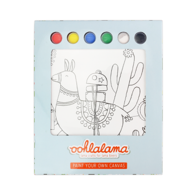 Oohlalama - Paint your own Canvas