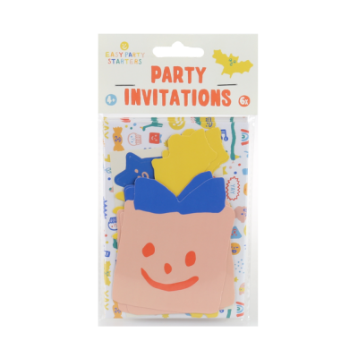 Easy party starters - Party invitations