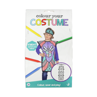 Colour your Costume - Knight