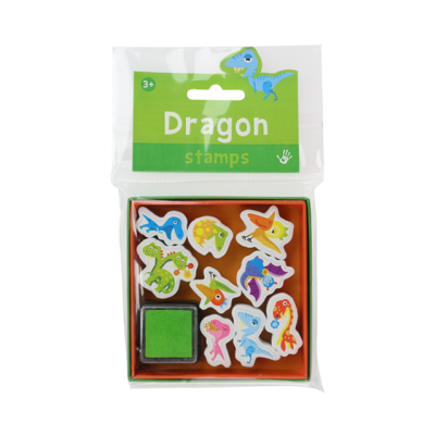 Mini Stamps - Dragons