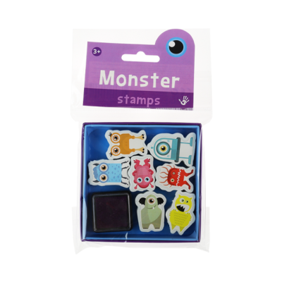 Mini Stamps - Monsters