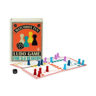 Matchbox fun - Ludo Game