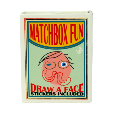 Matchbox fun - Draw a face - High5 Products