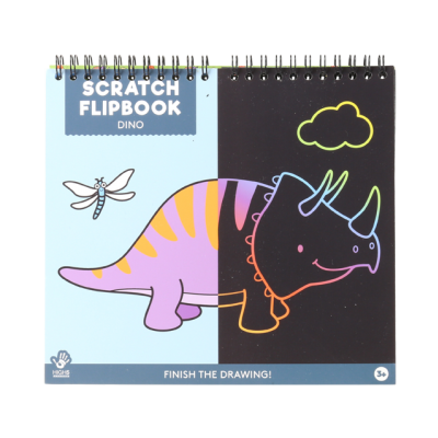 Scratch flipbook - Dino