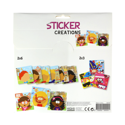 Sticker Creations - Faces