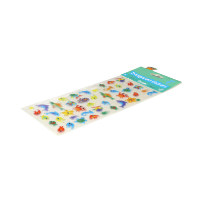 Glossy puffy stickers - Ocean