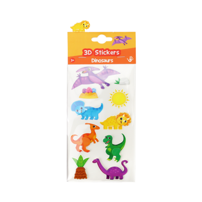 3D Stickers - Dinosaurs