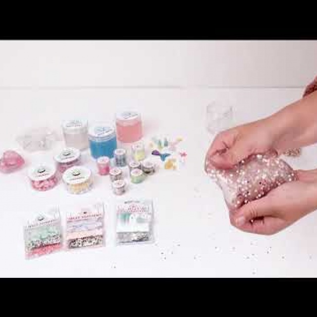 Jelly Decorations - Sequins/Glitters